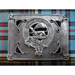 Boucle de Ceinture de Kilt Cap Badge