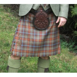 Kilt Traditionnel en Tartan Brittany Walking