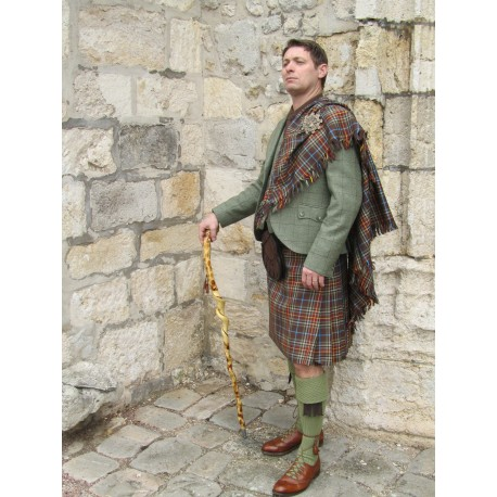 fly plaid traditionnel en tartan breton la maison du kilt