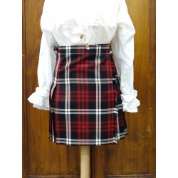 Mini-Kilt Traditionnel en Tartans Bretons