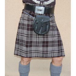 ENSEMBLE KILT pour débuter en Tartan breton National Grey