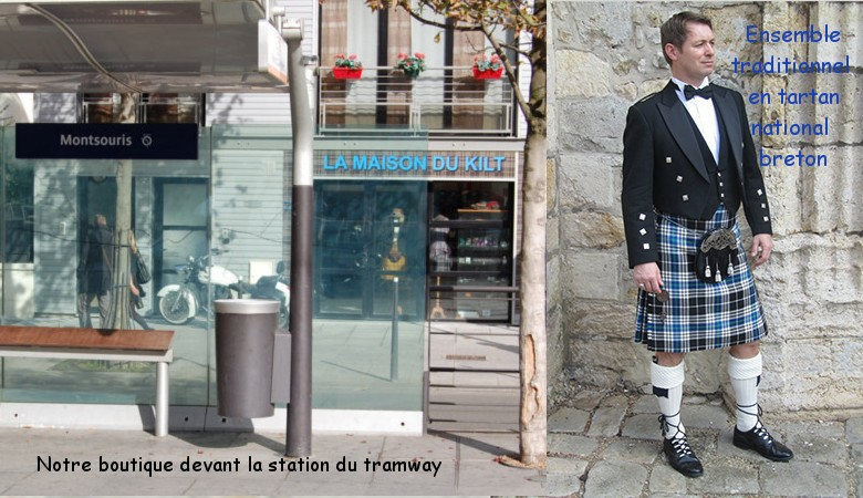 Ensemble Tartan National Breton